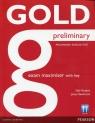 Gold Preliminary Exam Maximiser with key Burgess Sally, Newbrook Jacky