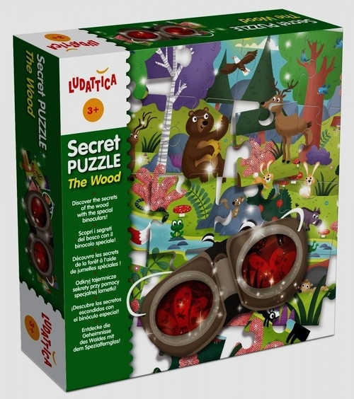 Ludatica Secret Puzzle The Wood (304-47017)