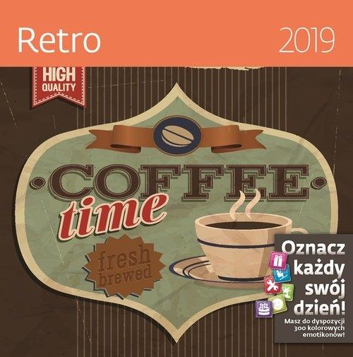 Kalendarz wieloplanszowy Retro 30x30 2019