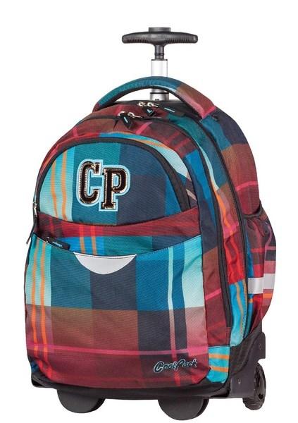 Coolpack - Rapid - Plecak młodzieżowy na kółkach - Maroon (59367CP)