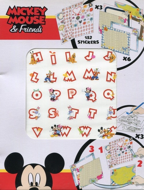 Naklejki activity stickers Mickey