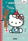 Angielski z Hello Kitty Mozaikowe naklejanki niebieskie