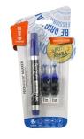 Marker permanentny + 2 ampułki niebieski MemoBe