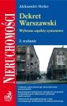 Dekret Warszawski Wybrane aspekty systemowe. Hetko Aleksander