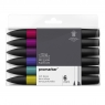 Zestaw pisaków Promarker Winsor & Newton - Rich Tones, 6 kolorów (0290111)