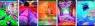 Zeszyt A4 Top2000 w kratkę 32 kartki Art 5 sztuk mix
