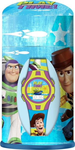 Zestaw zegarek cyfrowy ze skarbonką - Toy Story (WD20339)