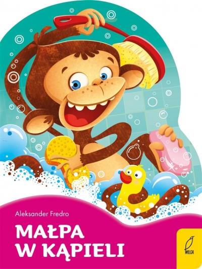 Wykrojnik. Małpa w kąpieli. Poeci dla dzieci praca zbiorowa