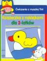 Ćwiczenia z myszką Tini Książeczka z naklejkami dla 2-latków