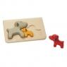 Pieski - Puzzle drewniane