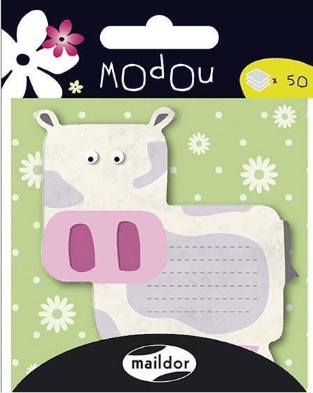 Karteczki samoprzylepne Krowa MAILDOR