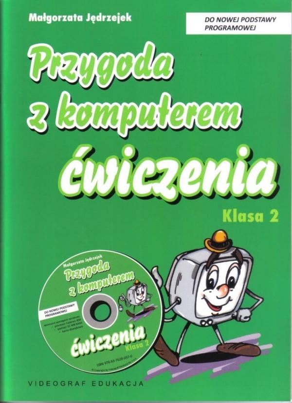 Przygoda z komputerem  2 ćw (CD GRATIS) wyd. 2011 Jedrzejek Gilner