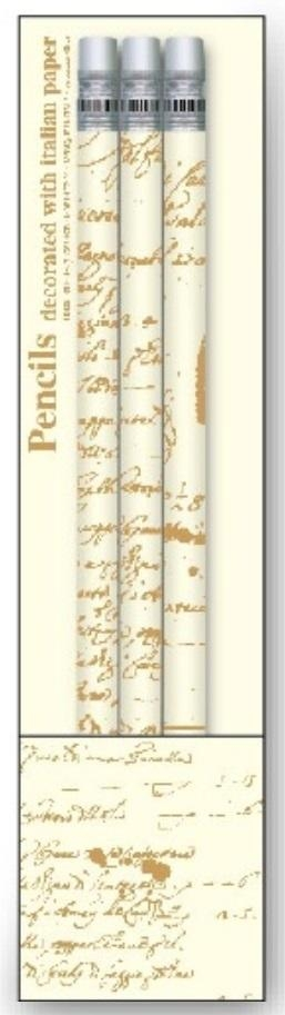 Ołówki ozdobne PST T37 3szt ROSSI