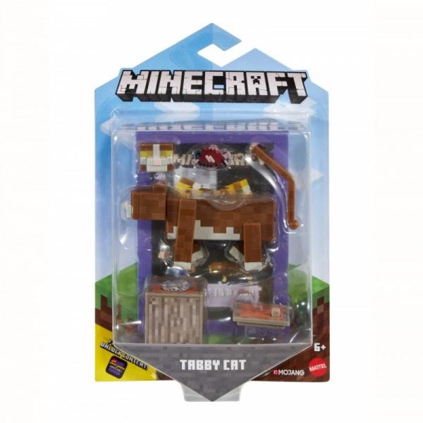 Figurka Minecraft Comic Maker Tabby Cat (GCC11/GLC70)