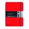 Notatnik my.book Flex A4/2x40k linia, kratka - czerwony (11361433)
