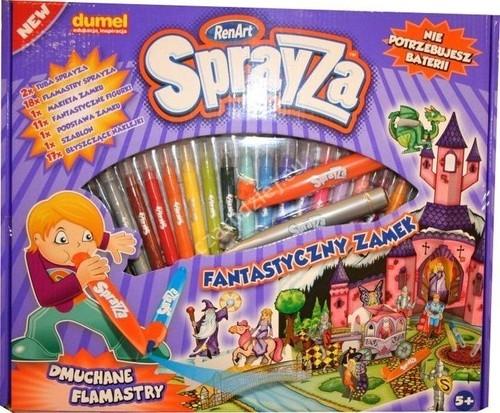 Sprayza Zestaw gigant. Fantastyczny zamek (SA2801)