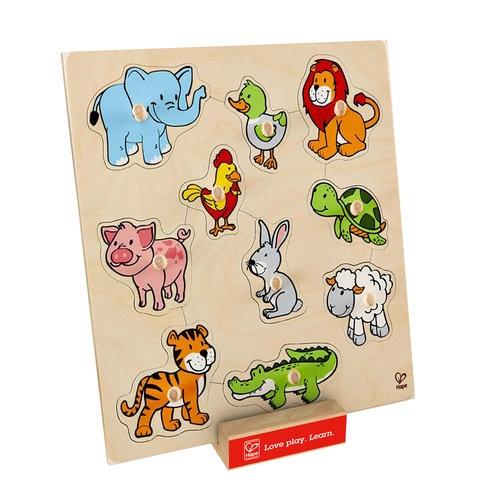 Przyjazne zwierzątka Puzzle
