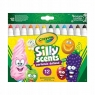 Markery zapachowe Crayola Silly Scents, 12 kolorów