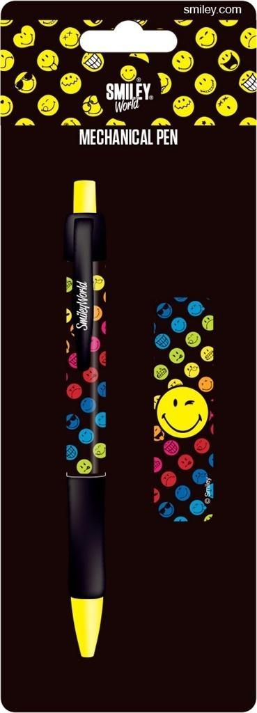Ołówek + wkłady Smiley