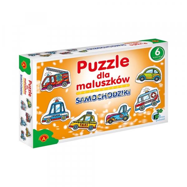 Puzzle dla maluszków - Samochodziki (0537)