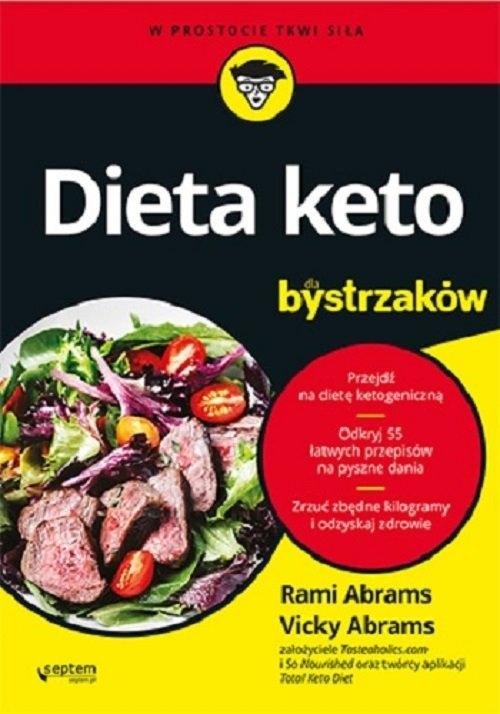 Dieta keto dla bystrzaków Abrams Rami  Abrams Vicky