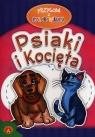 Przygoda z kolorowanką Psiaki i kocięta  (5937)