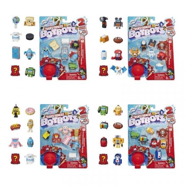 Figurki Transformers BOTBOTS Jock Squad (E3494/E4144)