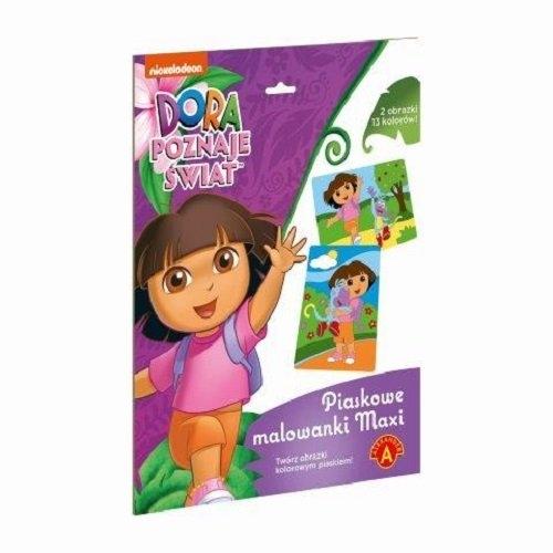 Piaskowe malowanki maxi Dora poznaje świat