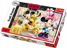 Puzzle 160 elementów Mickey Mouse i Przyjaciele Wesołe popołudnie (15237)
