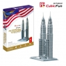 Puzzle 3D Petronas Towers 86