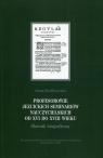 Profesorowie jezuickich seminariów nauczycielskich od XVI do XVIII wieku