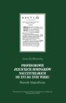 Profesorowie jezuickich seminariów nauczycielskich Królikowska Anna