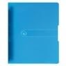 Segregator A4 pp 4R 1,6cm niebieski transparentny