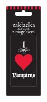 Zakładka magnetyczna ZK029 I love Vampires ZKO29