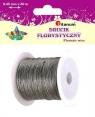 Drut dekoracyjny - srebrny 0,45mm/30m (339370)