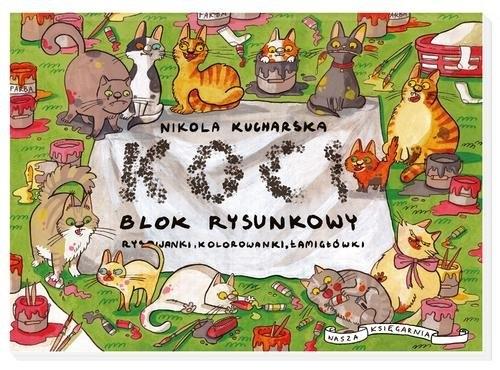 Koci blok rysunkowy Kucharska Nikola