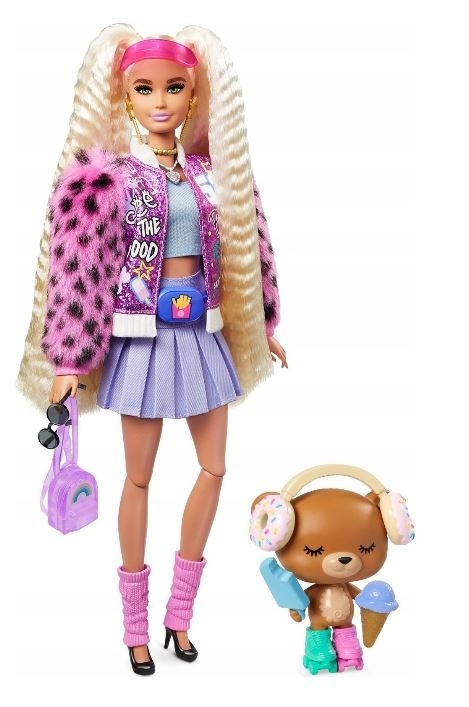 Lalka Barbie Extra Blond kucyki (GRN27/GYJ77)