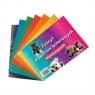 Zeszyt papierów kolorowych A5, błyszczących (32951)
