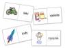 Domino logopedyczne wyrazowo - obrazkowe R-L