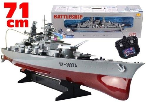 Ogromny okręt wojenny + Pilot RC