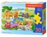 Puzzle konturowe Building a House 30 (03372)