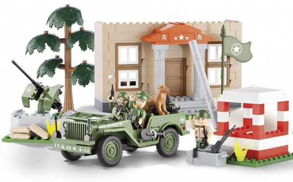 Cobi: Jeep Willys MB w koszarach - 24302