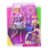 Barbie Extra: Lalka Blond kucyki (GRN27/GYJ77)