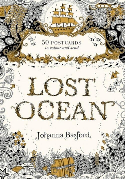 Lost Ocean Postcard Edition Basford Johanna