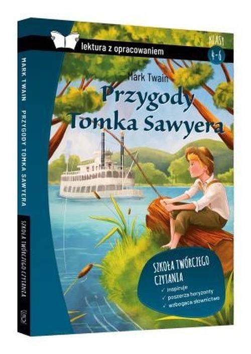 Przygody Tomka Sawyera Lektura z opracowaniem (Uszkodzona okładka) Twain Mark