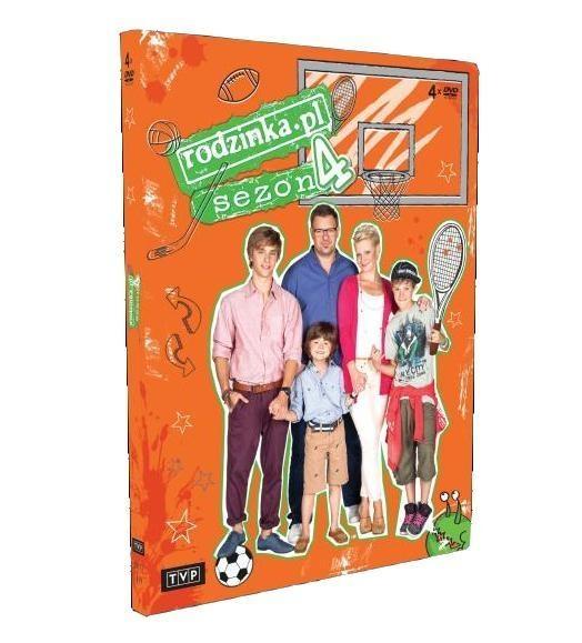 rodzinka.pl sezon 4 film DVD praca zbiorowa