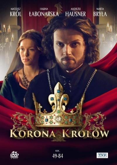 Korona królów. Sezon. 1 Odcinki. 49-84 (4 DVD) praca zbiorowa