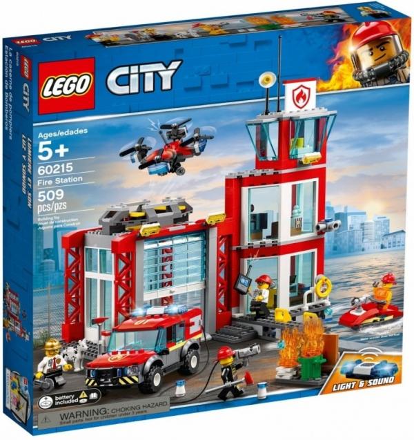 Lego City: Remiza strażacka (60215)