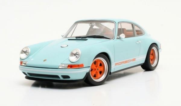 Singler Porsche E 911 2014 (blue) (CML040-1)