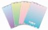 Zeszyt A4/96K kratka Ombre Powder pastel (5szt)